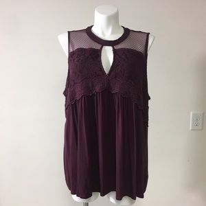 Maurice's Plus Size Babydoll Style Tank Top